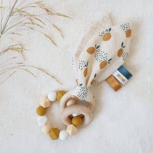 Anneau oreilles de lapin LEMON
