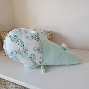Coussin GLACE cactus mint MUSICAL