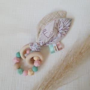 Anneau oreilles de lapin FORET ENCHANTÉE