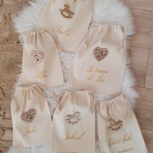 Pochon coton pour emballer vos cadeaux