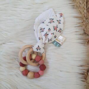 Anneau oreilles de lapin FLORA