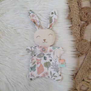 Doudou mini lapin FOREST