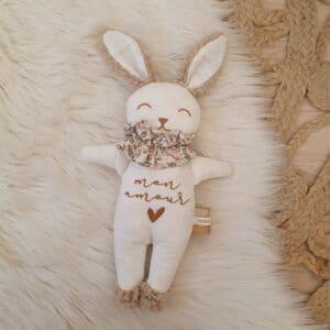 Poupée lapin Collerette ROMANTIQUE